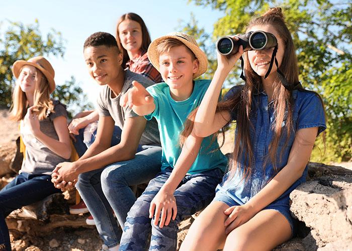vacances adolescents ete nature