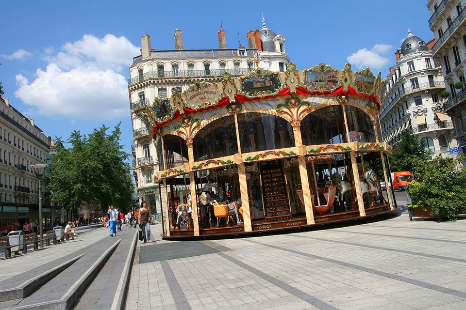 Carrousel à Lyon