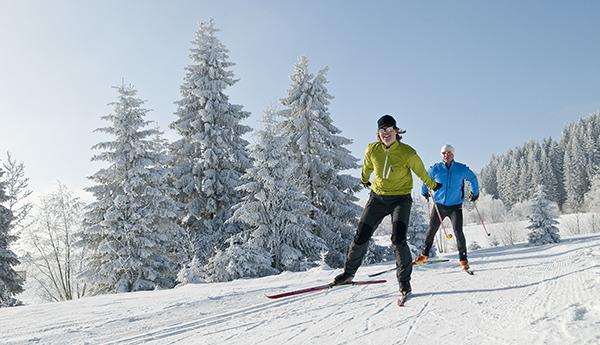 Ski de fond vacances montagne