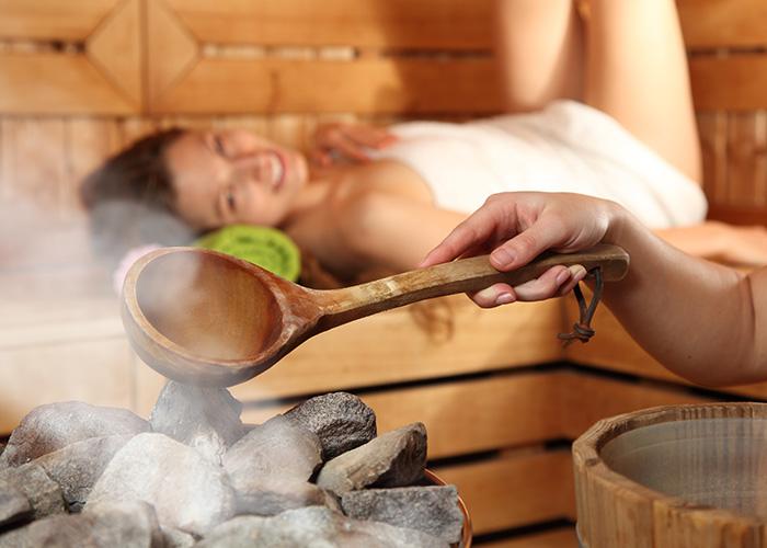 vacances bien-être sauna