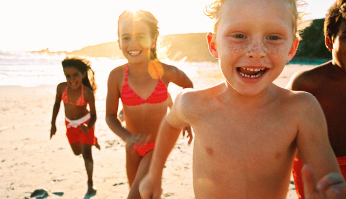 location vacances mer enfants plage