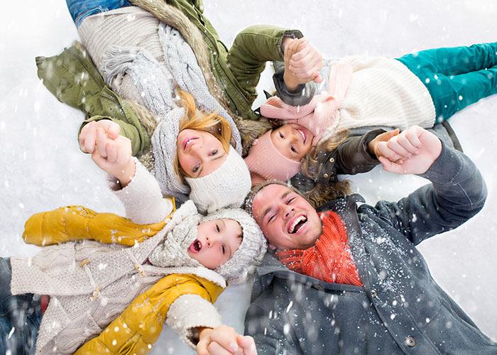 vacances hiver famille neige Cap France