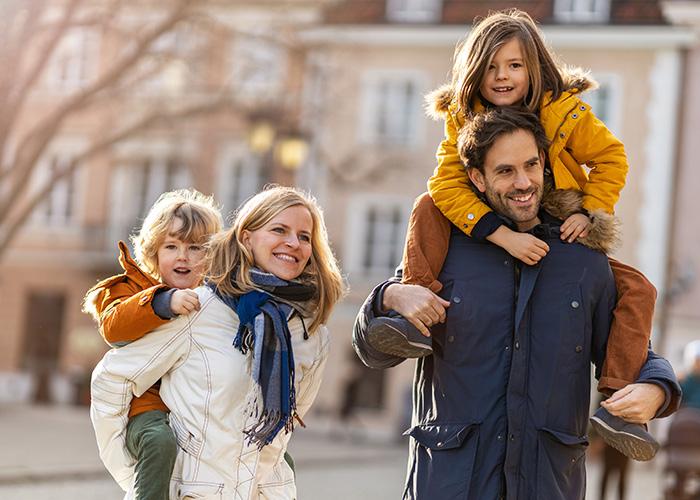 famille vacances hiver