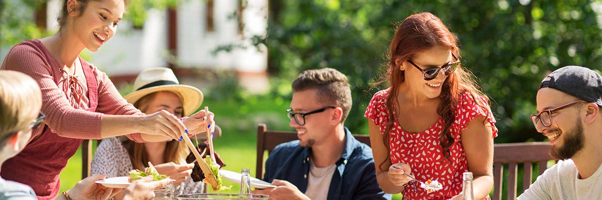 vacances famille repas
