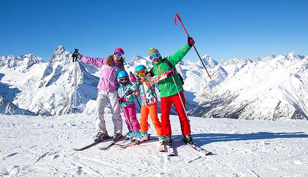vacances ski inclus famille