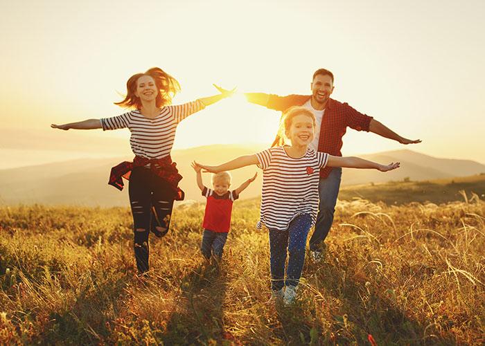 famille vacances liberté