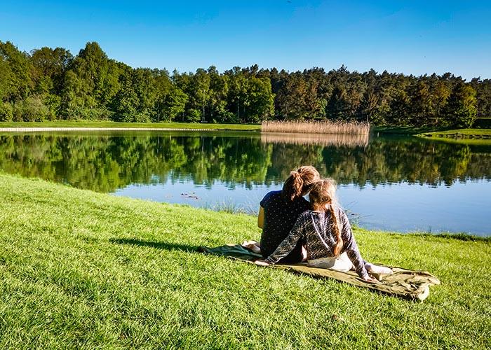 vacances lac nature