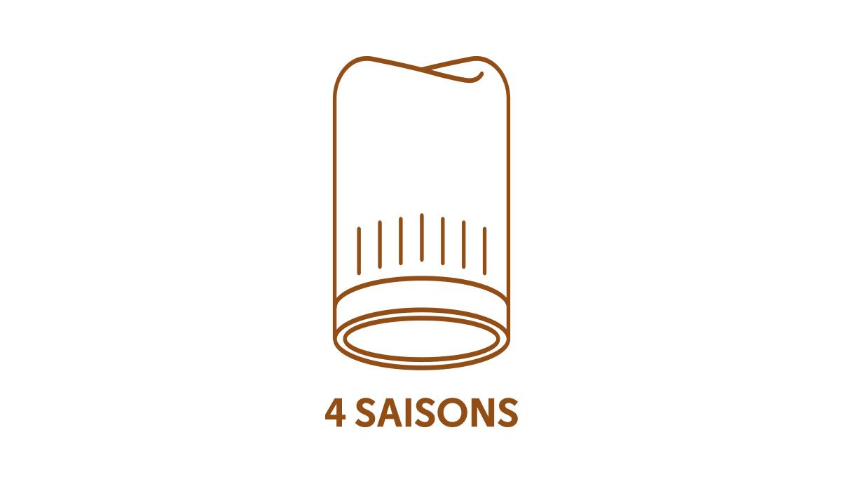 label 4 Saisons Cap France