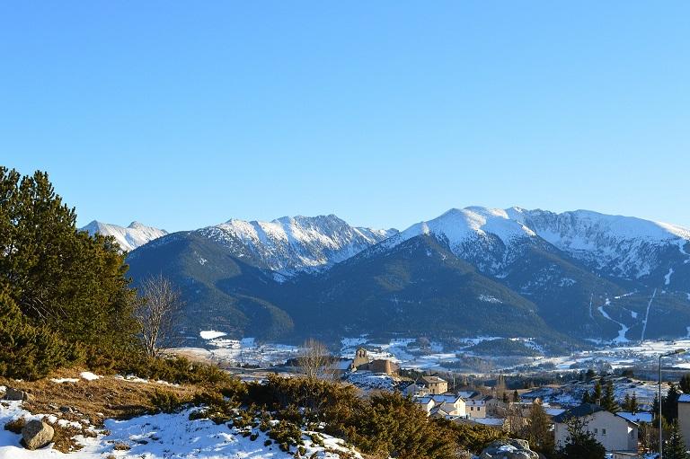 Vue sommets Pyrénées